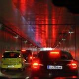 Σήραγγα αυτοκινήτων Στοκ Εικόνα
