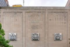 Σήραγγα μπαταριών του Μπρούκλιν - πλευρά του Μανχάταν Στοκ εικόνα με δικαίωμα ελεύθερης χρήσης