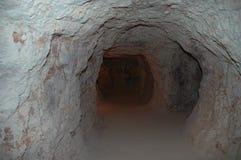 σήραγγα ορυχείων Στοκ εικόνες με δικαίωμα ελεύθερης χρήσης