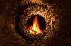 Σήραγγα στην πυρκαγιά στοκ φωτογραφία
