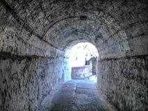 Σήραγγα στο νέο φρούριο της Κέρκυρας Στοκ Φωτογραφίες