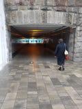 σήραγγα underpass Στοκ εικόνα με δικαίωμα ελεύθερης χρήσης