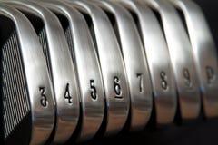 σίδηροι γκολφ Στοκ Εικόνες