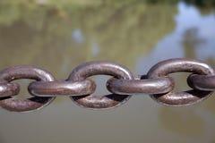 σίδηρος αλυσίδων Στοκ φωτογραφία με δικαίωμα ελεύθερης χρήσης
