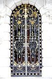 σίδηρος πορτών επεξεργασμένος στοκ εικόνα