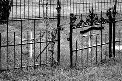 σίδηρος πυλών Στοκ εικόνες με δικαίωμα ελεύθερης χρήσης