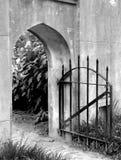 σίδηρος πυλών Στοκ εικόνα με δικαίωμα ελεύθερης χρήσης
