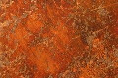 σίδηρος σκουριασμένος Στοκ Φωτογραφία