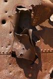 σίδηρος σκουριασμένος Στοκ εικόνες με δικαίωμα ελεύθερης χρήσης