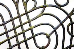 σίδηρος φραγών λεπτομέρε&io Στοκ φωτογραφία με δικαίωμα ελεύθερης χρήσης