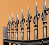 σίδηρος φραγών Στοκ φωτογραφία με δικαίωμα ελεύθερης χρήσης