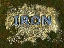 σίδηρος Στοκ φωτογραφία με δικαίωμα ελεύθερης χρήσης