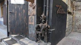 Σίδηρος Pinocchio vladivostok Primorye Ρωσία στοκ φωτογραφία με δικαίωμα ελεύθερης χρήσης