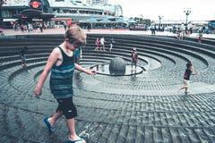Σίδνεϊ Arquitecture και κτήρια οδών Στοκ φωτογραφίες με δικαίωμα ελεύθερης χρήσης