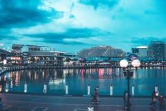 Σίδνεϊ Arquitecture και κτήρια οδών Στοκ φωτογραφία με δικαίωμα ελεύθερης χρήσης