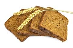 σίκαλη δημητριακών ψωμιού Στοκ Εικόνες