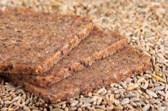 σίκαλη σιταριών ψωμιού wholegrain στοκ εικόνες με δικαίωμα ελεύθερης χρήσης