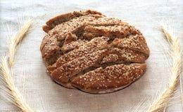σίκαλη φραντζολών ψωμιού Στοκ Εικόνες