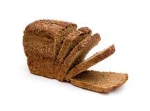 σίκαλη ψωμιού που τεμαχίζ& στοκ εικόνες