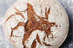 Σίκαλη ψωμιού, ολόκληρο υπόβαθρο πλακών σιταριού Τοπ όψη στοκ εικόνα με δικαίωμα ελεύθερης χρήσης
