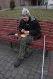 Σίτιση των αστέγων Στοκ φωτογραφία με δικαίωμα ελεύθερης χρήσης