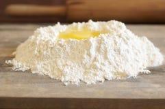 σίτος αλευριού αυγών Στοκ Εικόνες