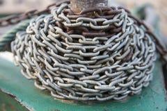 σίδηρος αλυσίδων Στοκ εικόνα με δικαίωμα ελεύθερης χρήσης