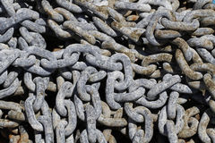 σίδηρος αλυσίδων Στοκ Εικόνες