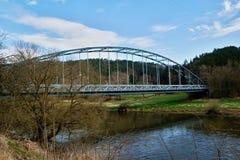 σίδηρος γεφυρών παλαιός Στοκ εικόνα με δικαίωμα ελεύθερης χρήσης