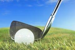Σίδηρος γκολφ Στοκ Εικόνες