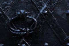 σίδηρος πορτών παλαιός Στοκ Εικόνες