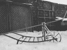 Σίδηρος Scarp Στοκ Εικόνες