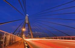 Σίδνεϊ Anzac 2 ηλιοβασίλεμα CBD Στοκ εικόνες με δικαίωμα ελεύθερης χρήσης