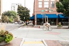 Σαββατοκύριακο σε Boise, Αϊντάχο Στοκ φωτογραφίες με δικαίωμα ελεύθερης χρήσης