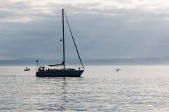 Σαββατοκύριακο στη θάλασσα Στοκ εικόνες με δικαίωμα ελεύθερης χρήσης