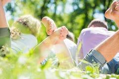 Σαββατοκύριακο στο πάρκο Στοκ φωτογραφία με δικαίωμα ελεύθερης χρήσης
