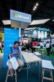 ΣΑΓΚΆΗ, ΚΙΝΑ - 31 ΑΥΓΟΎΣΤΟΥ 2016: Θάλαμος της επιχείρησης της Microsoft Στοκ Φωτογραφία