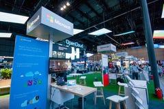 ΣΑΓΚΆΗ, ΚΙΝΑ - 2 ΣΕΠΤΕΜΒΡΊΟΥ 2016: Θάλαμος της επιχείρησης α της Microsoft Στοκ Φωτογραφία