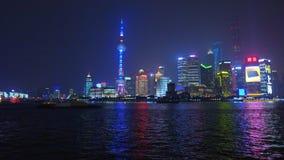 Σαγκάη - νέα περιοχή Pudong απόθεμα βίντεο