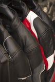 Σακάκια μοτοσικλετών δέρματος Στοκ φωτογραφία με δικαίωμα ελεύθερης χρήσης