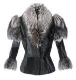 Σακάκι γουνών μόδας Στοκ εικόνες με δικαίωμα ελεύθερης χρήσης
