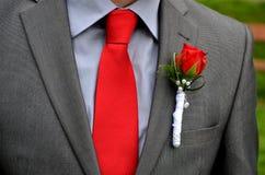 Σακάκι που διακοσμείται για το γάμο Στοκ Φωτογραφίες