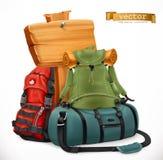 fe7844e333 Σακίδιο πλάτης τουριστών και τσάντα