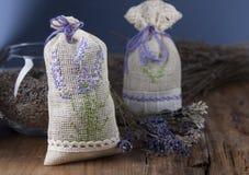 Σακούλι με lavender Στοκ Εικόνα