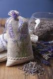 Σακούλι με lavender Στοκ Εικόνες