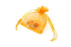 Σακούλα με jewerly στοκ εικόνες με δικαίωμα ελεύθερης χρήσης
