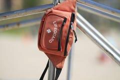 Σακούλα Lifeguard Στοκ Εικόνες