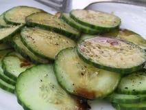 σαλάτα αγγουριών Στοκ εικόνες με δικαίωμα ελεύθερης χρήσης