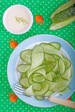 σαλάτα αγγουριών Στοκ Φωτογραφία