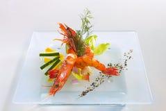 σαλάτα γαρίδων στοκ φωτογραφία με δικαίωμα ελεύθερης χρήσης